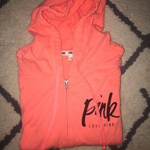 Victoria Secret PINK hooded Zip-Up